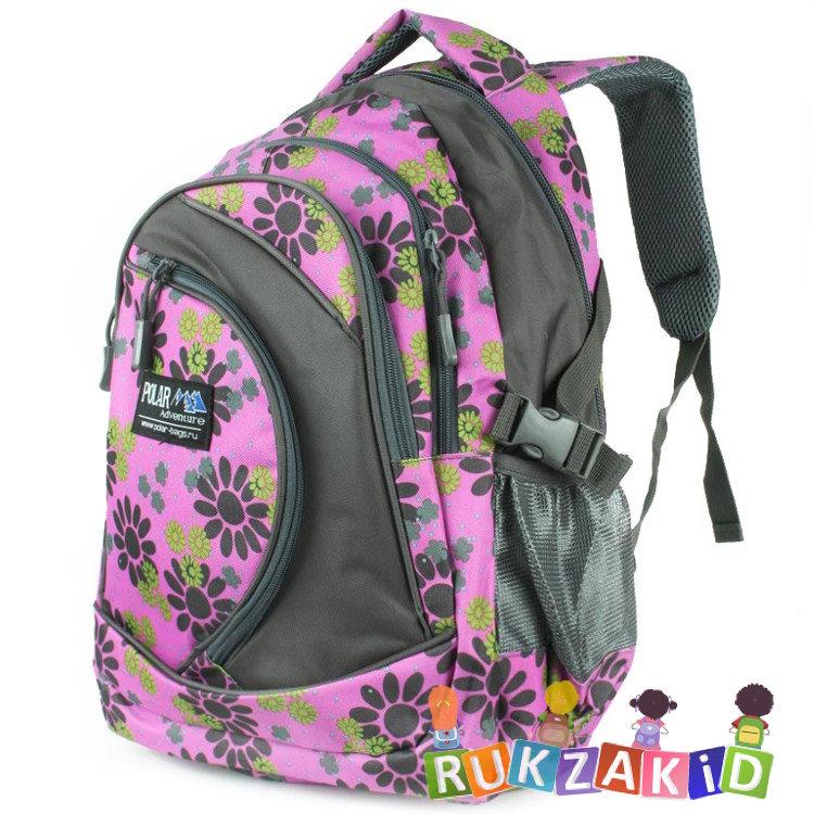 Рюкзак молодежный polar 80072 blue рюкзаки, дорожные сумки mail ru