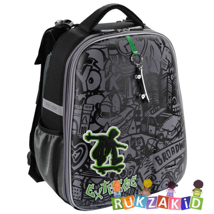 16930f3beb43 Купить рюкзак школьный mike mar 1008-138 экстрим черный / серый ...