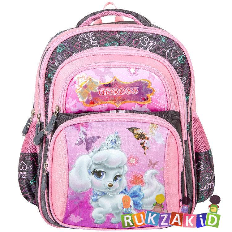 90e2a26a3fe4 Купить детский рюкзак для первоклассника across 301401 собачка в ...