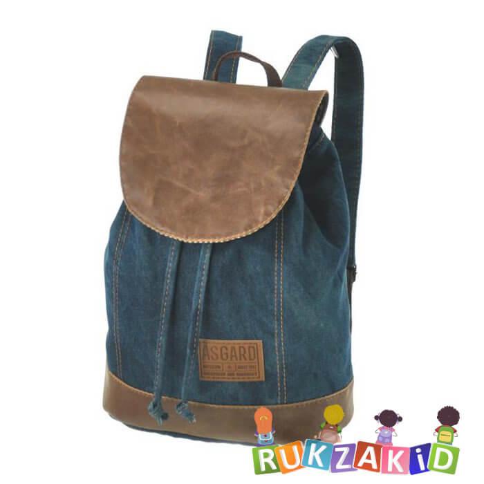 68336aefde29 Купить джинсовый рюкзак asgard сине-зеленый p-5490 в интернет ...