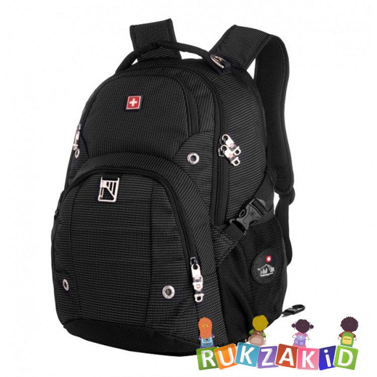 23d6cac44233 Купить рюкзак городской swisswin sw9217n black в интернет магазине ...
