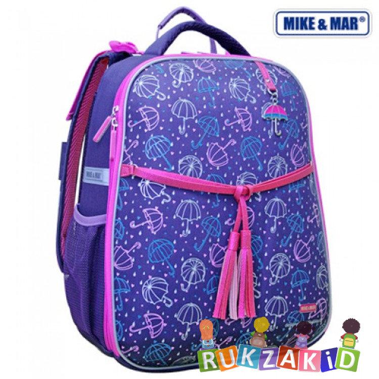 e3048d98de11 Купить рюкзак школьный mike mar 1008-95 зонтики фиолетовый в ...