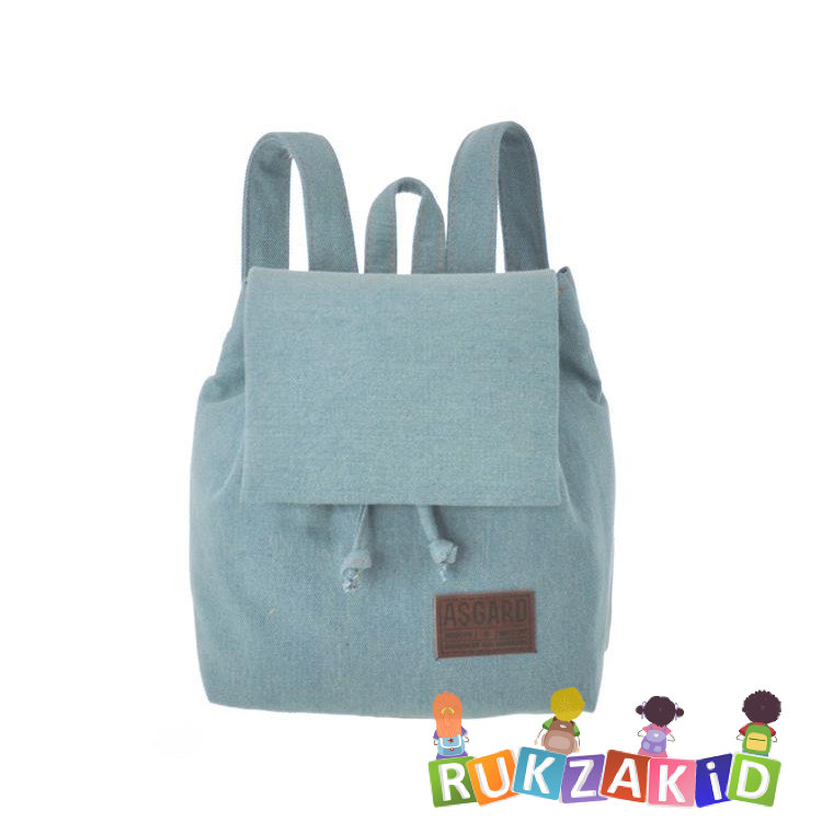 314382001eba Купить мини рюкзак для девушки asgard р-5580 джинс голубой светлый в ...