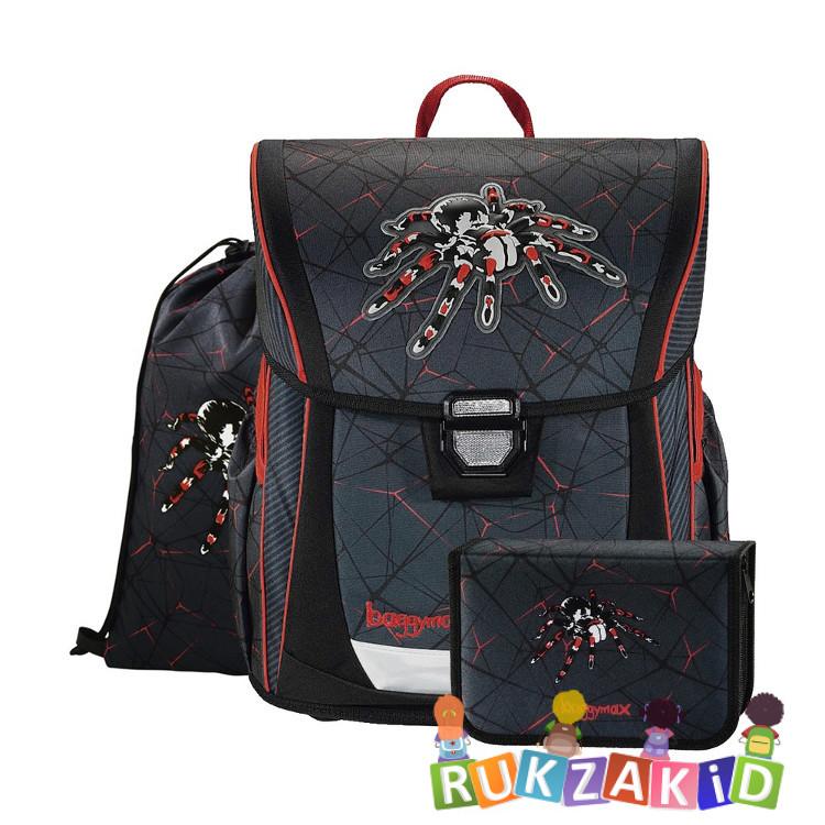 Купить ранец с наполнением 3 в 1 hama baggymax fabby паук в интернет магазине Rukzakid.ru