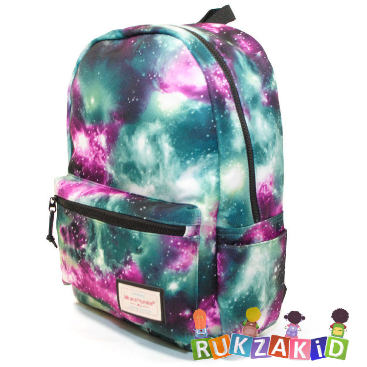 Рюкзак mr ace homme space зеленый молодежные рюкзаки с черепами в чёрно-белую клетку