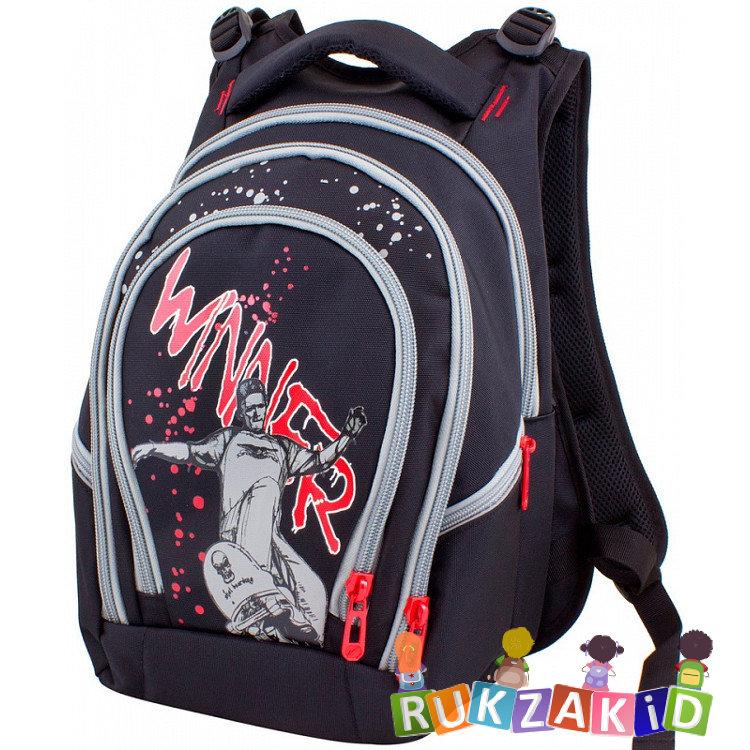 16edc5558a15 Купить рюкзак школьный winner 335 скейтборд красный в интернет ...