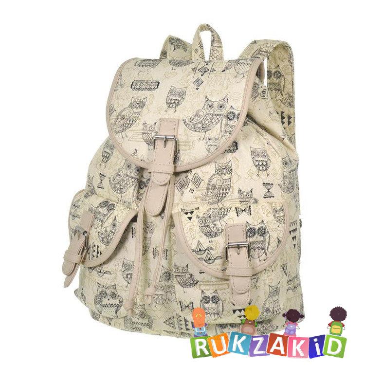 0cad71624a0a Купить рюкзак молодежный для девушек asgard р-5594с совы этно ...