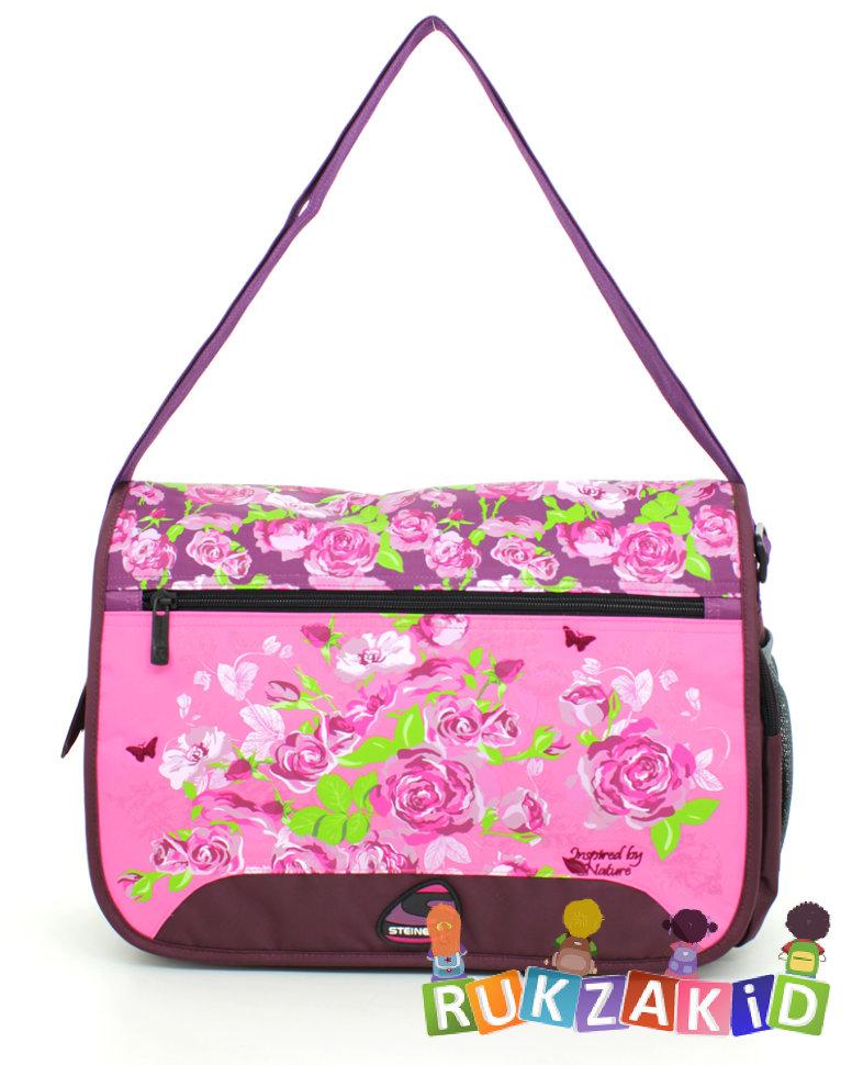 46d8518c5f31 Купить школьная сумка через плечо steiner 43135-502 розы в интернет ...