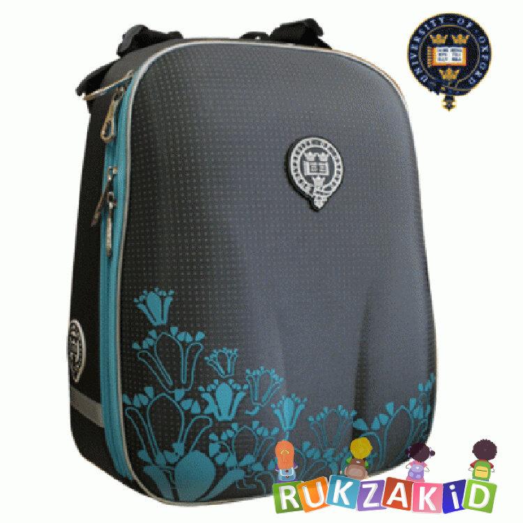 Купить рюкзак школьный oxford 1008-ox-50 серый / бирюза в интернет магазине Rukzakid.ru