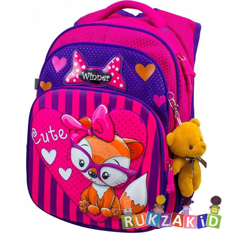 f144130eec89 Купить школьный рюкзак winner 8049 милый лисенок в интернет магазине ...