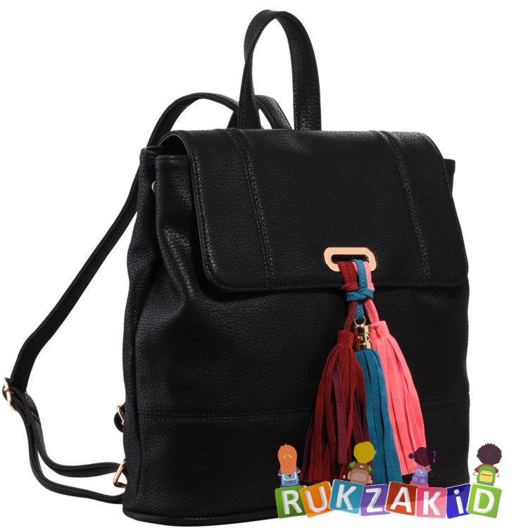 417b38d2bf74 Купить городской рюкзак pola 4339 черный в интернет магазине Rukzakid.ru
