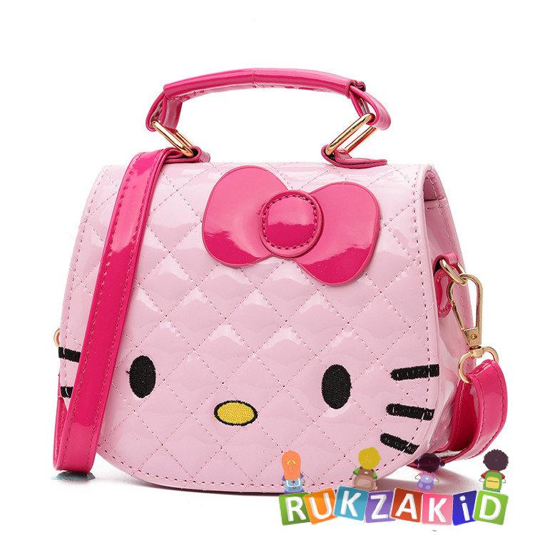 2b84cdf7f8be Купить сумка детская hello kitty розовая в интернет магазине Rukzakid.ru