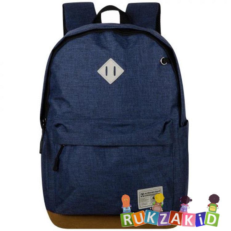 b1e071eec082 Купить рюкзак молодежный across classic синий в интернет магазине ...