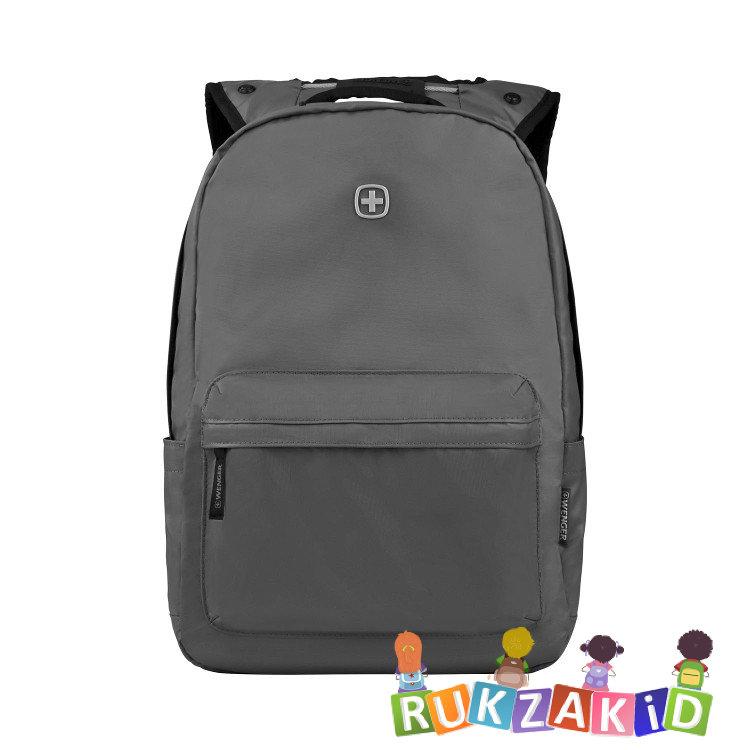 9ad66ac3f6e6 Купить рюкзак городской wenger 605033 серый в интернет магазине ...