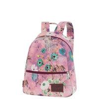 7d0dd69b85f3 Молодежный мини рюкзак Asgard Р-5722 Цветы Пастель лилово - розовый