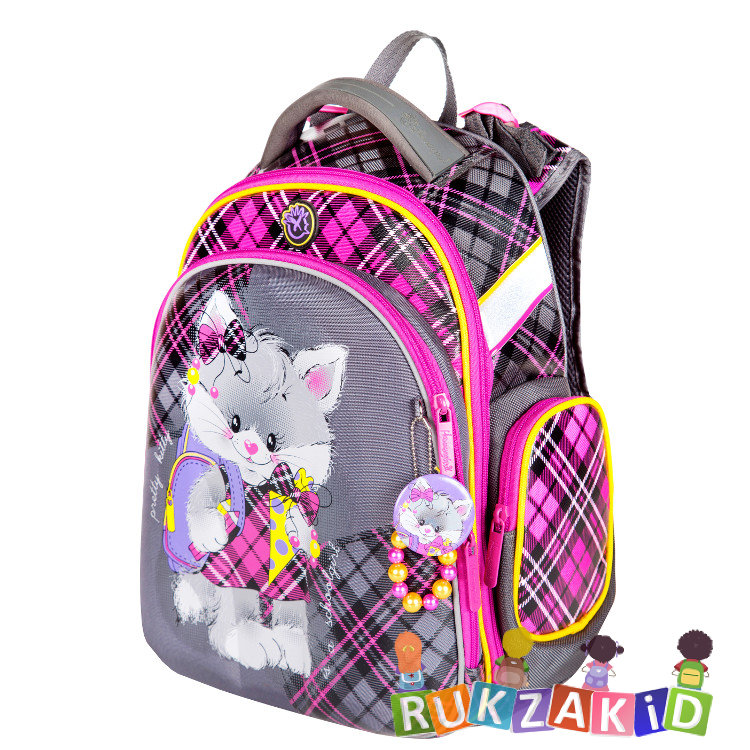 7574c281376e Купить рюкзак школьный hummingbird tk62 pretty kitty в интернет ...