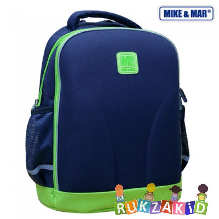 f02cc3bffb3c Купить школьный рюкзак облегченный mikemar 1010-01 синий / зеленый ...