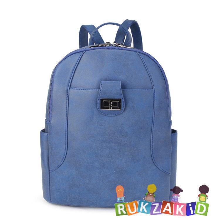 fba4669828c8 Купить женский рюкзак из экокожи ors oro d-455 синий в интернет ...