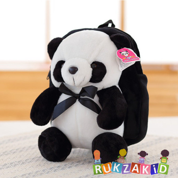 Мягкий рюкзак игрушка панда большие рюкзаки с ортопедической спинкой для 5-11 классов эргобэк