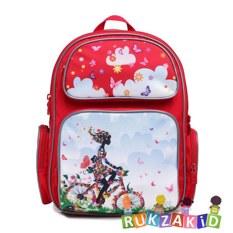 dffe3127ee97 Купить рюкзак для школьника 4all school ru 76-02 велосипедистка в ...