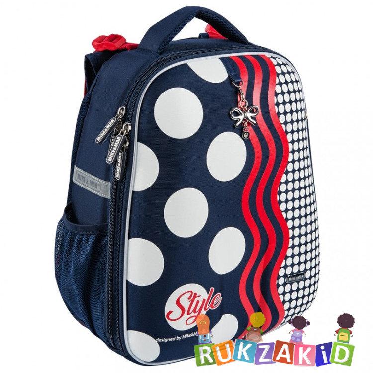 Купить рюкзак школьный mike mar 1008-169 стиль темно - синий / красный в интернет магазине Rukzakid.ru