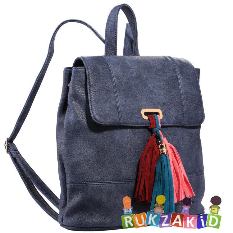 10622c878533 Купить городской рюкзак pola 4339 темно-синий в интернет магазине ...