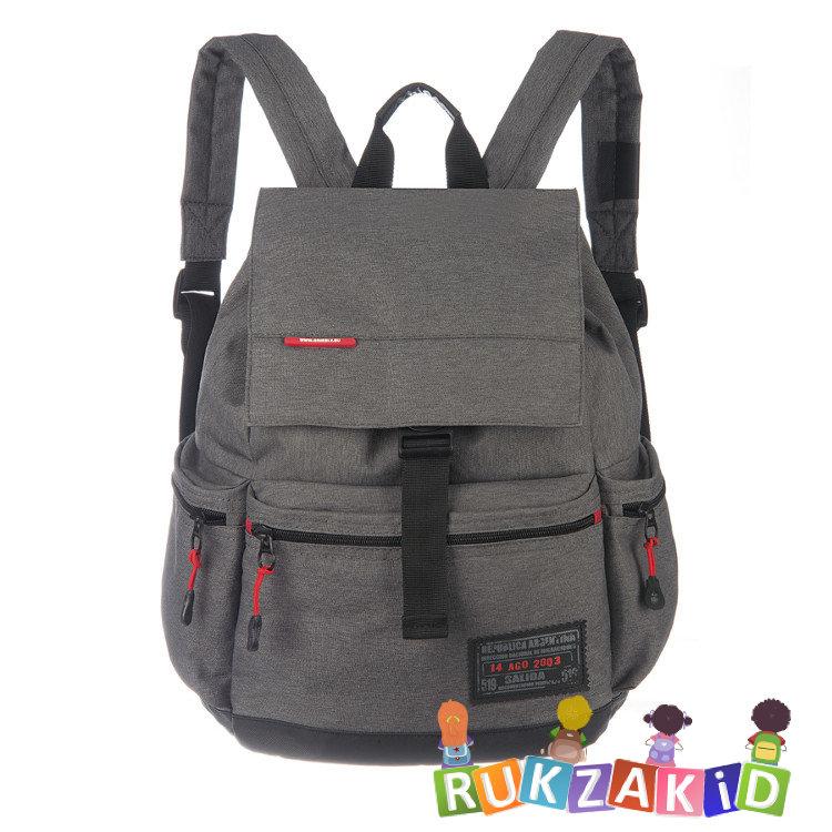 Купить рюкзак городской мужской grizzly ru-614-1 серый в интернет ... d70cfbf58ab