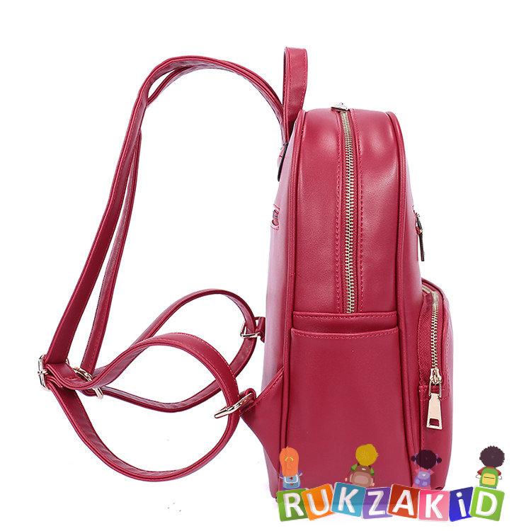 69a315f44566 Купить женский городской рюкзак orsoro d-184 красный в интернет ...
