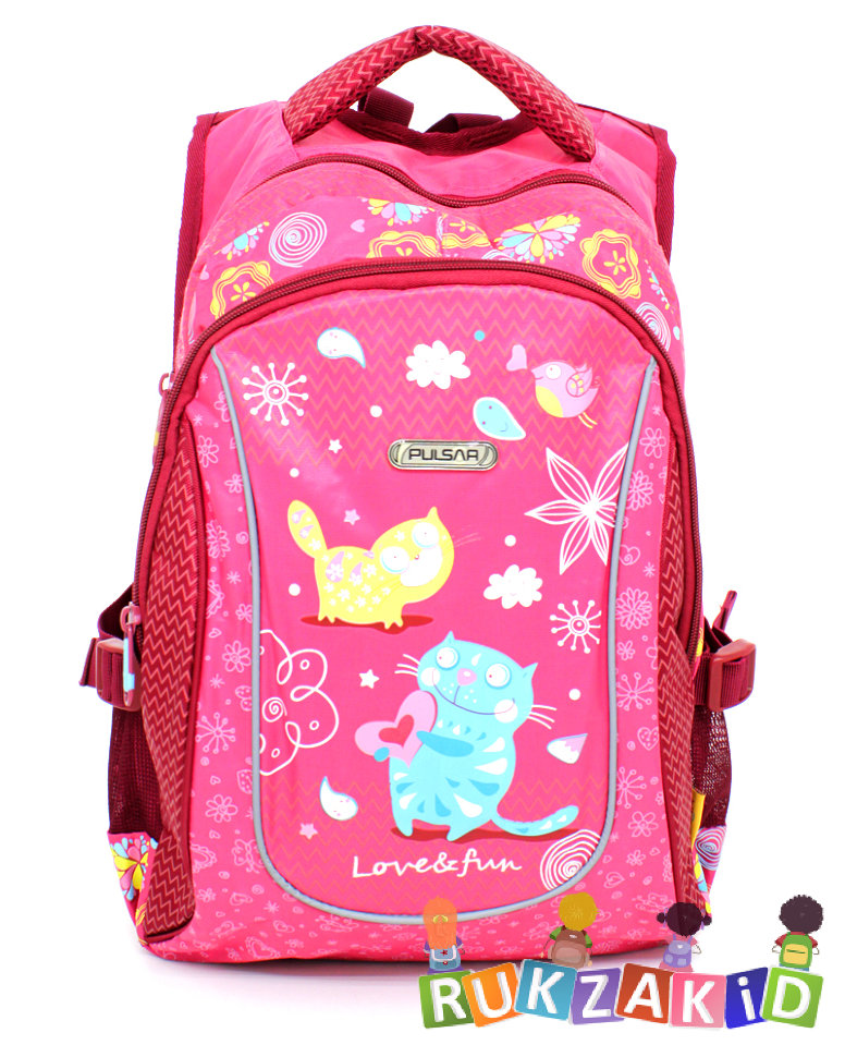 d38629e030d3 Купить рюкзак для девочки pulsar 4-p4 love and fun в интернет ...