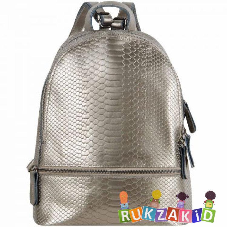 ff39e4b0e9ad Купить рюкзак женский кожаный connecticut рептилия серебро в ...