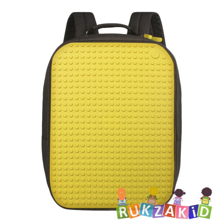 ce2c704971d0 Пиксельный рюкзак Upixel Canvas classic pixel Backpack WY-A001 Желтый