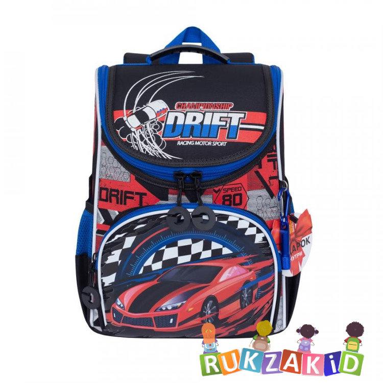 7ea9901efbb3 Купить ранец школьный grizzly ra-972-1 racing motor sport черный ...