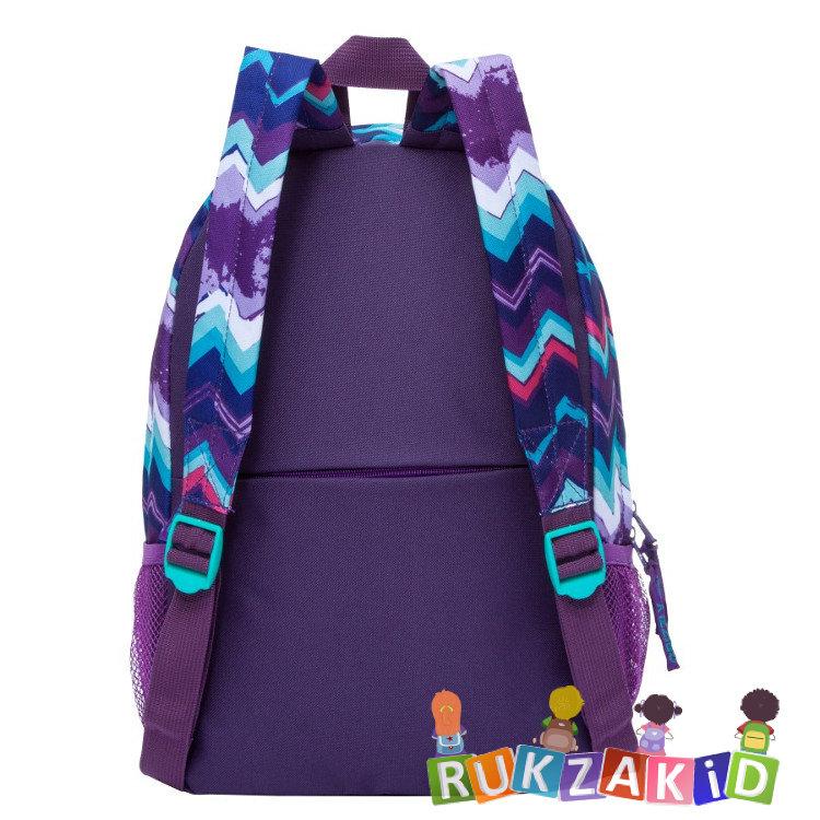 ffc1f0617d01 Купить молодежный рюкзак grizzly rd-750-1 зигзаги фиолетовые в ...