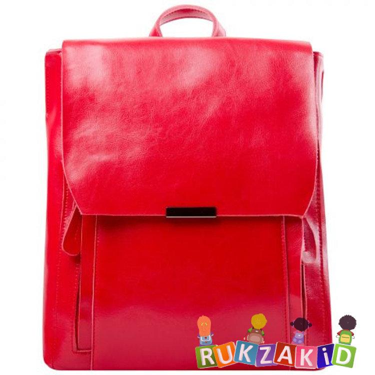 499fda40e44b Купить кожаный рюкзак женский florida красный в интернет магазине ...