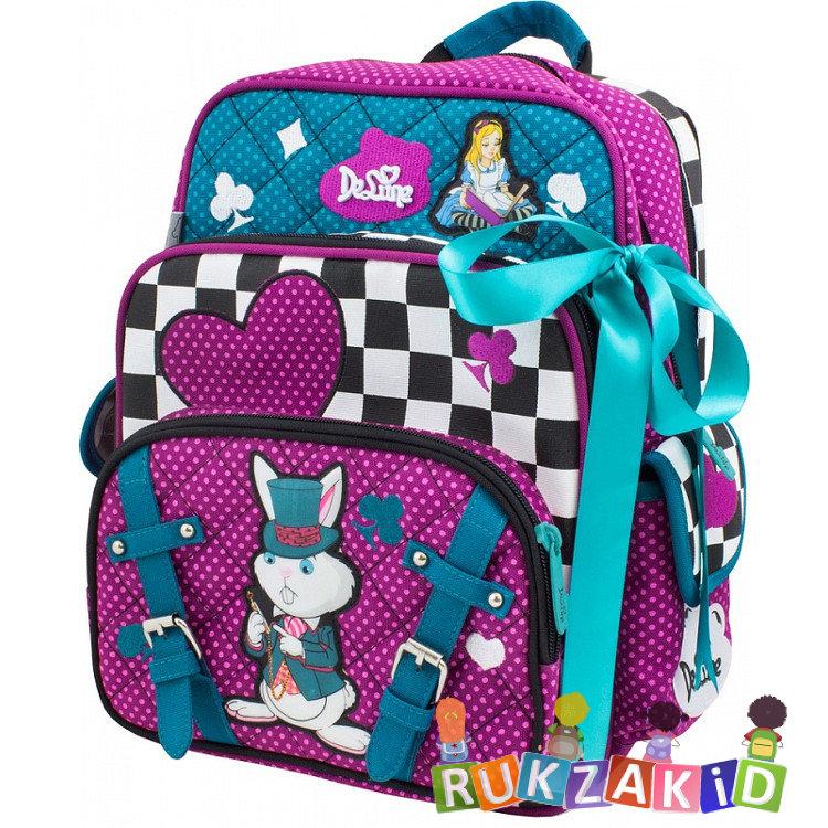 da2c10369bfb Купить школьный рюкзак delune 55-03 алиса в стране чудес сиреневый в ...