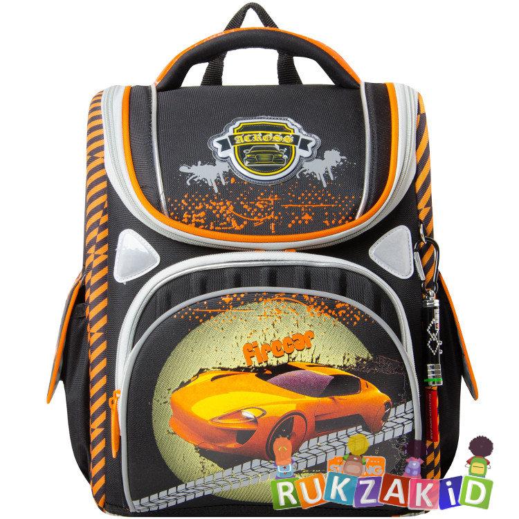 3640f7d64e24 Купить школьный ранец с машиной для мальчика across 195-2 в интернет ...