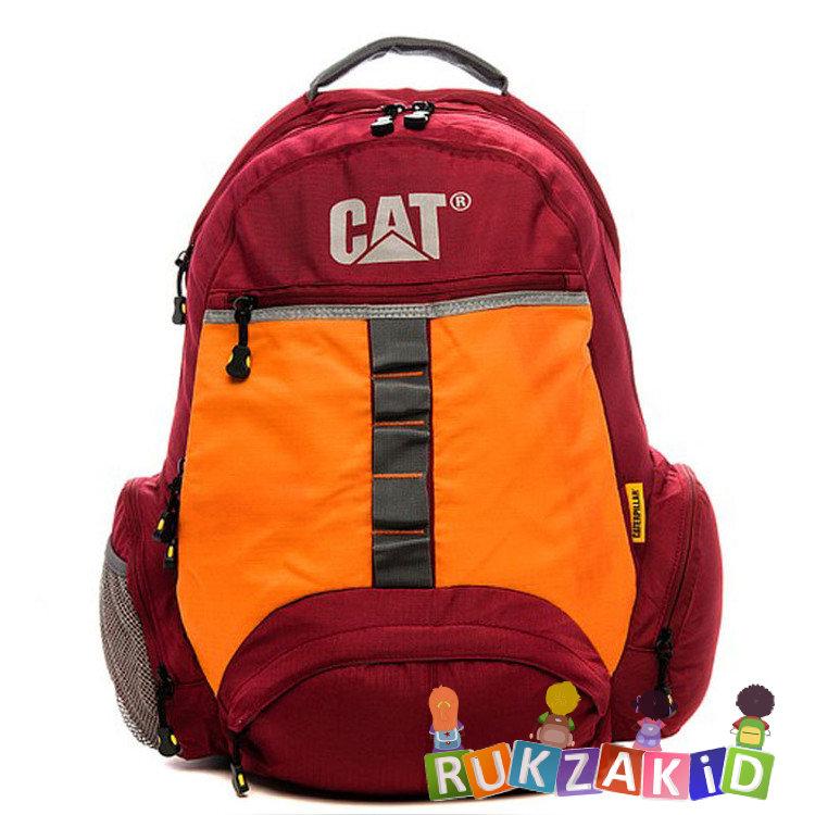 8ba5e7b157be Купить рюкзак caterpillar urban active красный / оранжевый 83001-148 ...