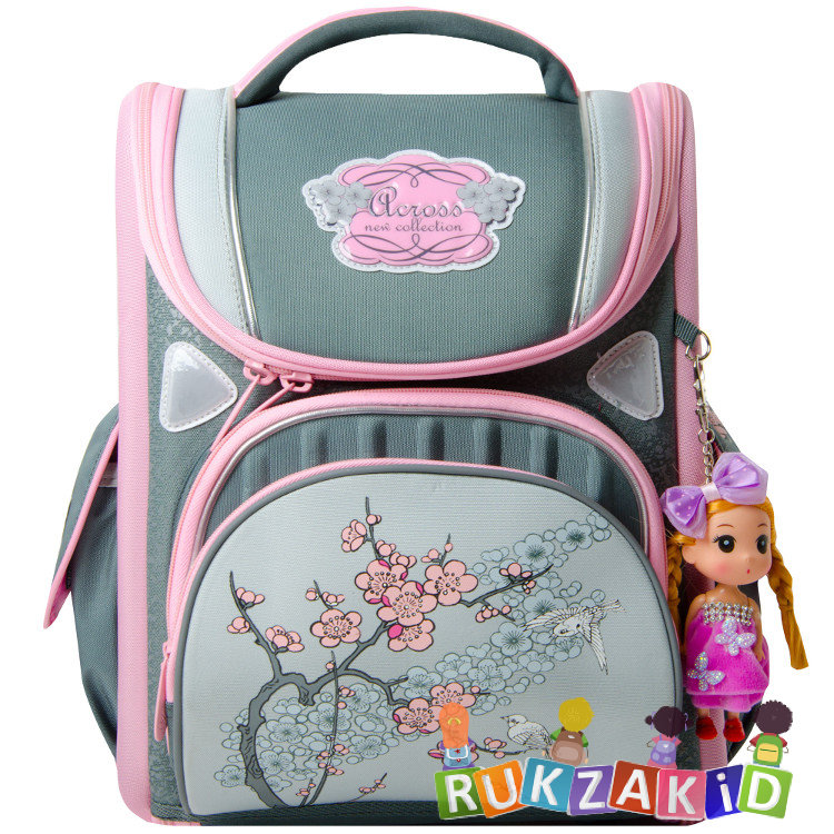 78cfe6de2b4d Купить школьный портфель с цветами across 195-12 в интернет магазине ...