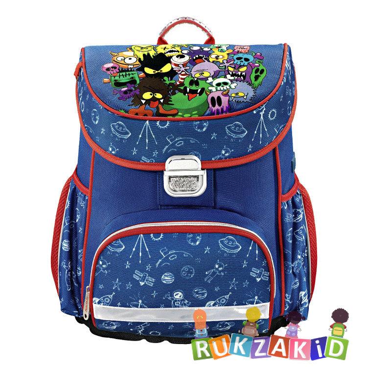 6ac7bf2b2742 Купить ранец hama monsters синий / красный в интернет магазине ...