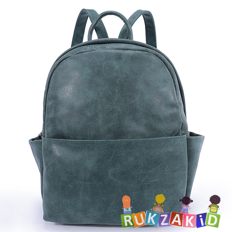 Купить рюкзак женский городской повседневный orsoro d-181 малахит в ... aefa6a2141d
