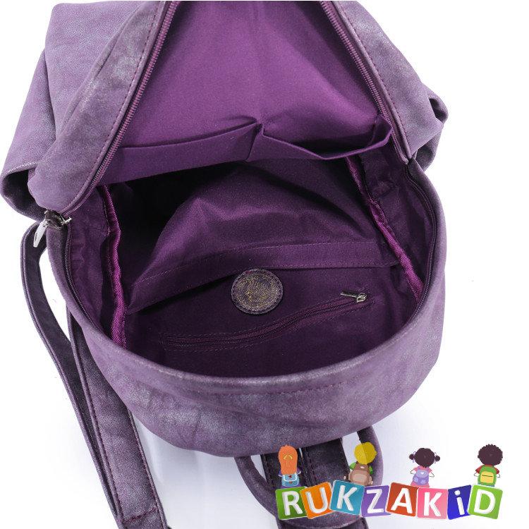 2fc790a787ef Купить рюкзак женский городской повседневный orsoro d-181 синий в ...
