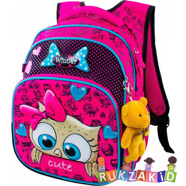 d09988528ba1 Купить школьный рюкзак winner 8011 любопытный совенок в интернет ...