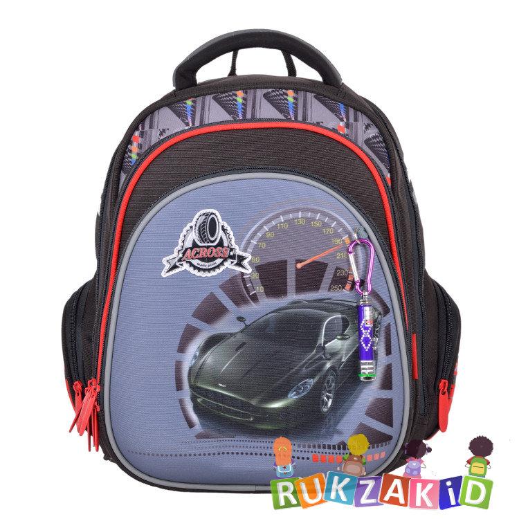 76862920f7ed Купить детский ортопедический рюкзак для школы across 203-3 машина в ...
