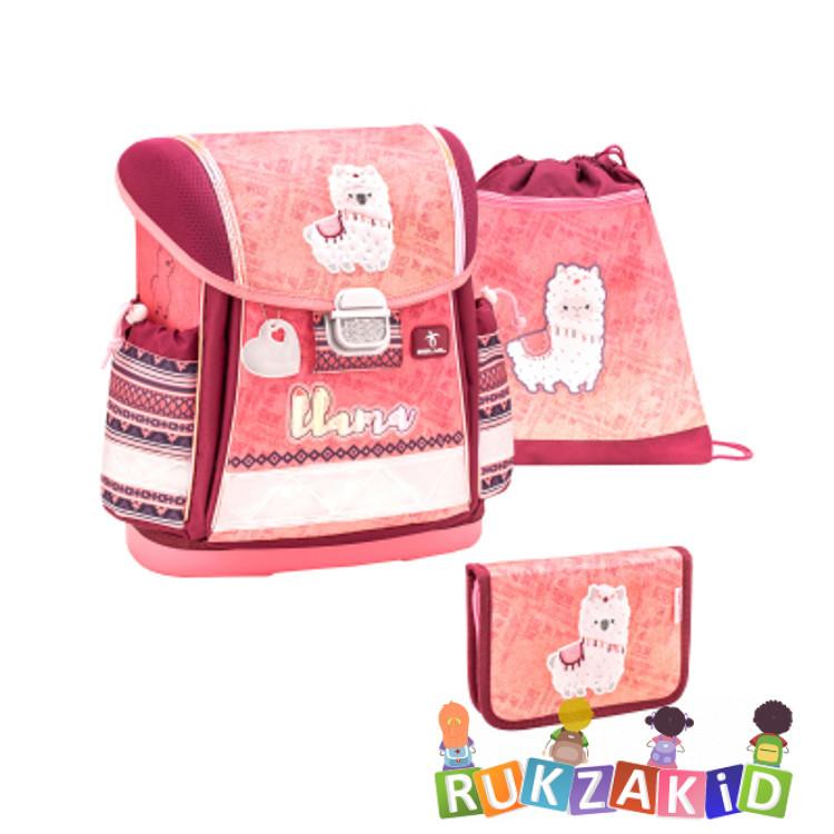 Купить ранец школьный belmil classy funky llama + мешок + пенал в интернет магазине Rukzakid.ru