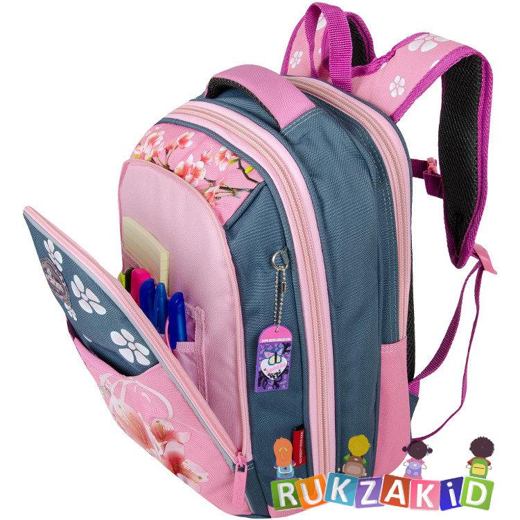 329f3ededf14 Купить рюкзак школьный облегченный across acs5-4 цветы в интернет ...