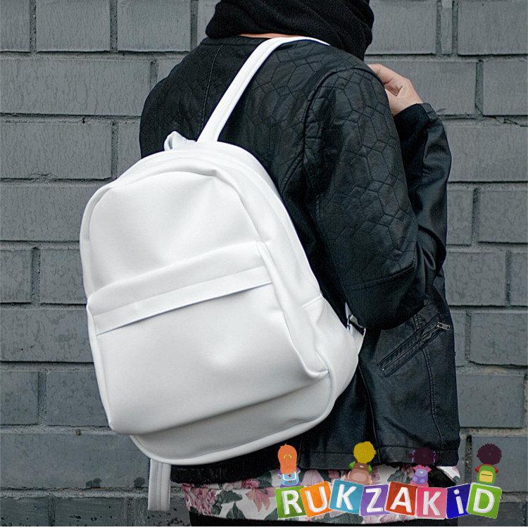 277d69abbe05 Купить рюкзак городской женский kawaii simple style белоснежный в ...