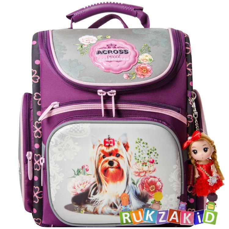 5b055bb37af1 Купить портфель школьный с собакой across 196-12 в интернет магазине ...