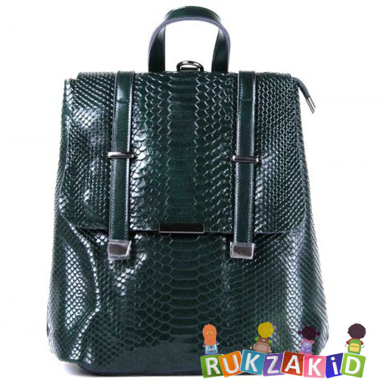 c6a18a8206b9 Купить сумка рюкзак женский georgia рептилия зеленый в интернет ...