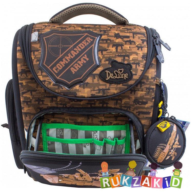 52a4c9607c51 Купить школьный ранец de lune 3-133 танк в интернет магазине Rukzakid.ru