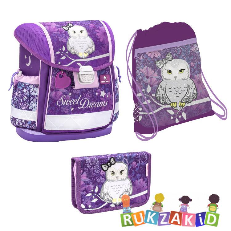 Купить ранец школьный belmil classy sweet dreams + мешок + пенал в интернет магазине Rukzakid.ru